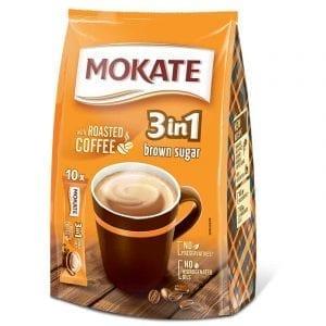 Mokate 10x 3in1 Brown Sugar