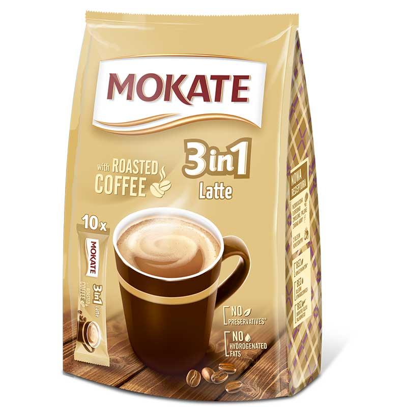 Mokate 10x 3in1 Latte