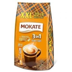 Mokate 24x 3in1 Brown Sugar