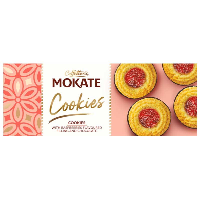 Mokate Cookies Raspberry Chocolate