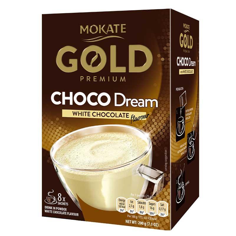 Mokate Hot Choco Dream White Chocolate