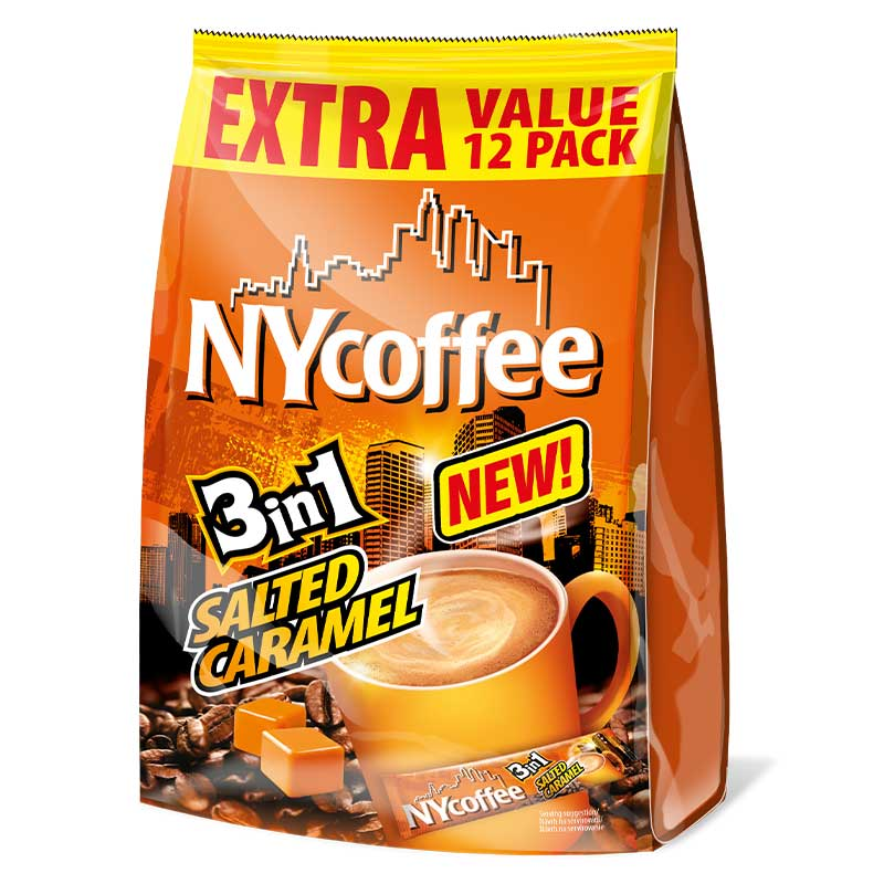 NYCoffee 12x 3in1 Salted Caramel