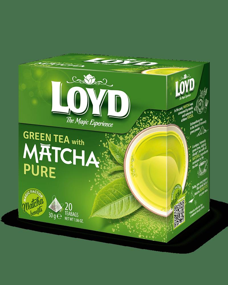 Lloyd Green Matcha Tea Package