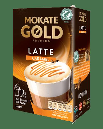 Mokate Gold Latte Caramel